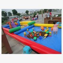 皓阳厂家热销充气沙滩池玩具 玩沙决明子 儿童钓鱼池