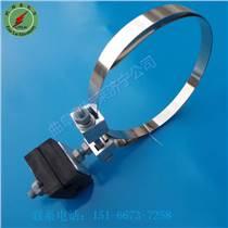 電力配套金具ADSS光纜用引下線夾利特萊橡膠型引下線夾 廠家現貨