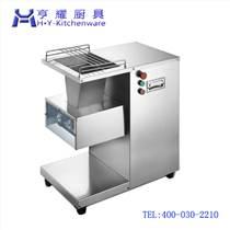 上海切猪肉片的机_不锈钢立式切肉机_不锈钢切肉丁机_电控绞肉切肉机