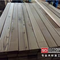 深度炭化木厂家   优质炭化木正宗看得到