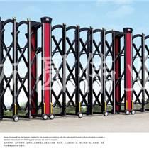 不銹鋼電動伸縮門 圍墻花園廠房政府學校智能大門FY-099
