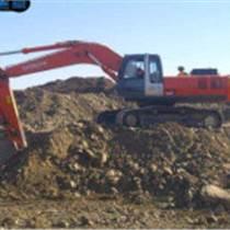 上海青浦区加长臂挖掘机出租深基础桩间土清理