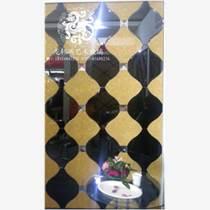 電視背景墻玻璃裝飾拼鏡 灰鏡超白鏡尖頂石紋 過道內墻裝修材料