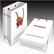 厂家定制创意手提袋印刷白卡纸服装手提袋包装购物袋设计印刷