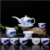 景德镇茶具批发厂家,商务礼品功夫茶具定做厂家