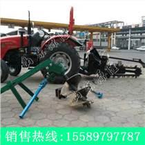 厂家低价销售小型开沟机 多功能挖沟机 拖拉机开沟机