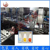 定制優質牛奶塑料瓶裝灌裝封口機塑料瓶封膜機