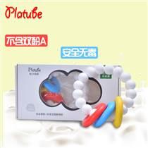 厂家批发 婴儿硅胶牙胶宝宝固齿咬胶手环益智婴儿玩具