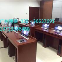 廣州博奧BRZE-3M超薄含屏自動升降電腦桌