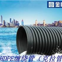 河南克拉管品牌_金鵬高密度聚乙烯纏繞增強管特點