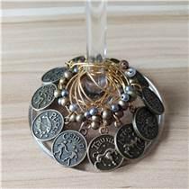 十二星座酒杯環 復古青銅酒杯環 歐美復古酒杯環