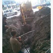 上海青浦区挖掘机租赁管道开挖路面破碎