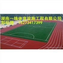 郴州塑膠跑道最高標準施工籃球場鋪裝湖南一線體育