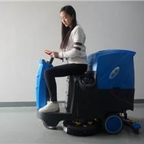 展览馆大理石地面用洗地机|依晨电瓶式洗地机YZ-JS1000