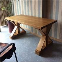 主题餐厅桌子工业风餐桌餐饮家具定做