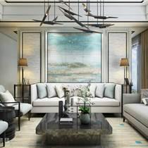 供應家用裝修瓷毯 青花浮雕彩繪瓷毯磚訂制批發