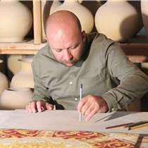 景德镇供应家居装修专用地毯 地毯砖 半手工瓷砖
