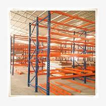 物流橫梁式倉儲貨架定做,牧隆根據產品長度設計