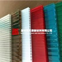 東莞鳳崗陽光板廠家批發零售 4厘至12厘雙層空心陽光板車棚雨棚