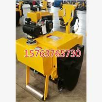 濟寧爍騰手推式柴油一輪壓路機 單鋼輪溝槽壓土機 小型碾地機產品做得最專業