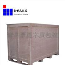 出口木箱 机电设备免检出口黄岛厂家定做上门测量加固一