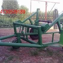 中國常州液壓式五噸電纜拖車放線視頻
