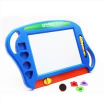 未来玩具先生 儿童画板ABS塑料写字板大号彩色磁性画板