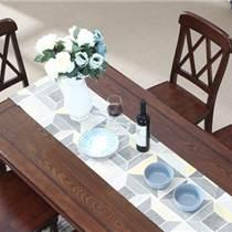 美式乡村餐桌椅组合