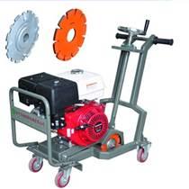 萬向輪設計的手推式瀝青路面開槽機 馬路打寬機 瀝青路面擴槽機品牌及作用