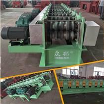 建筑廢鋼管壓方管成型設備圓管改方管設備