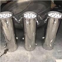 法蘭式純水過濾器304精密過濾器12-15芯過濾器