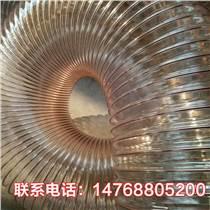山东四季柔软pu钢丝伸缩软管吹膜机专用