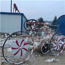 玻璃钢材质公园饰品大单车现货包邮速度快