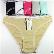 89161全棉內褲女士內褲 純棉少女簡約女式三角褲速賣通貨源女內褲