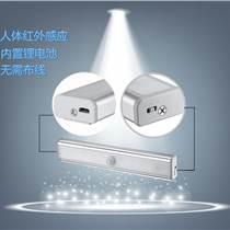 ??祫撘釻SB燈人體感應小夜燈 外貿新奇特爆款LED感應智能櫥柜燈