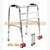 中風老人走路學步車助行器偏癱老年人四腳拐杖康復器助步器帶座輪