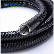 浙江雷诺尔LNE-JSH 304不锈钢包塑金属软管蛇皮穿线管