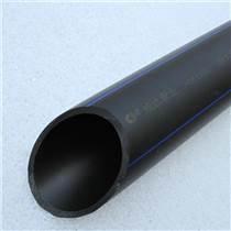 PE管材管件排污管廠家直銷黑色聚乙烯純原料管