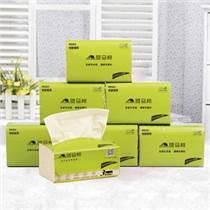斑马邦本色纸抽纸10包婴儿纸巾竹纤维纸不漂白宝宝纸抽餐巾纸整箱