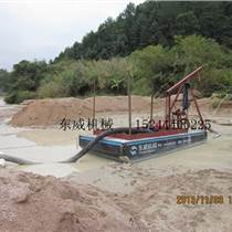 山東定制型吸沙船8寸抽沙泵柴油機動力抽沙平臺