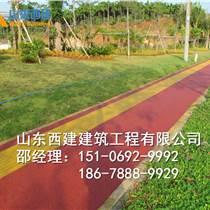 辽宁锦州透水混凝土新型环保建筑材料 彩色透水混凝土施工