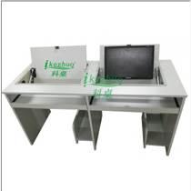 边框翻转器电脑桌 多媒体学生电脑翻转桌 科桌供应香港电脑桌