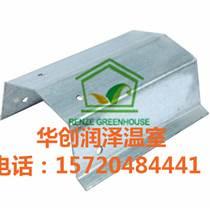 江蘇供應優質連棟溫室大棚骨架材料 簡易連棟大棚骨架配件 水槽
