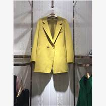 歐美高端第二批雙面羊絨大衣羽絨服品牌折扣女裝店貨源庫存批發