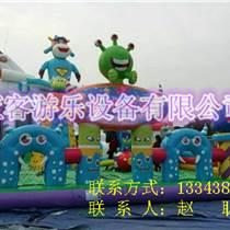 山西太原充氣城堡蹦蹦床 兒童充氣游樂設備公司