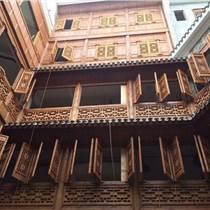 紅花梨仿古門窗 雕花門窗實木柱子車圓加工