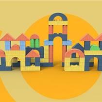 巧可粒建筑师EPP桌面玩具小积木幼儿园教具桌面益智玩