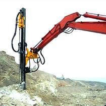 小挖機改裝液壓鑿巖機、小挖機改裝氣動鑿巖機