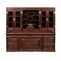 印尼黑酸枝紅木家具五斗柜實木儲物柜衣柜臥室闊葉黃檀國