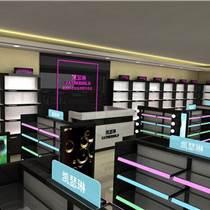 成都化妆品展柜制作厂定做成都化妆品展示柜